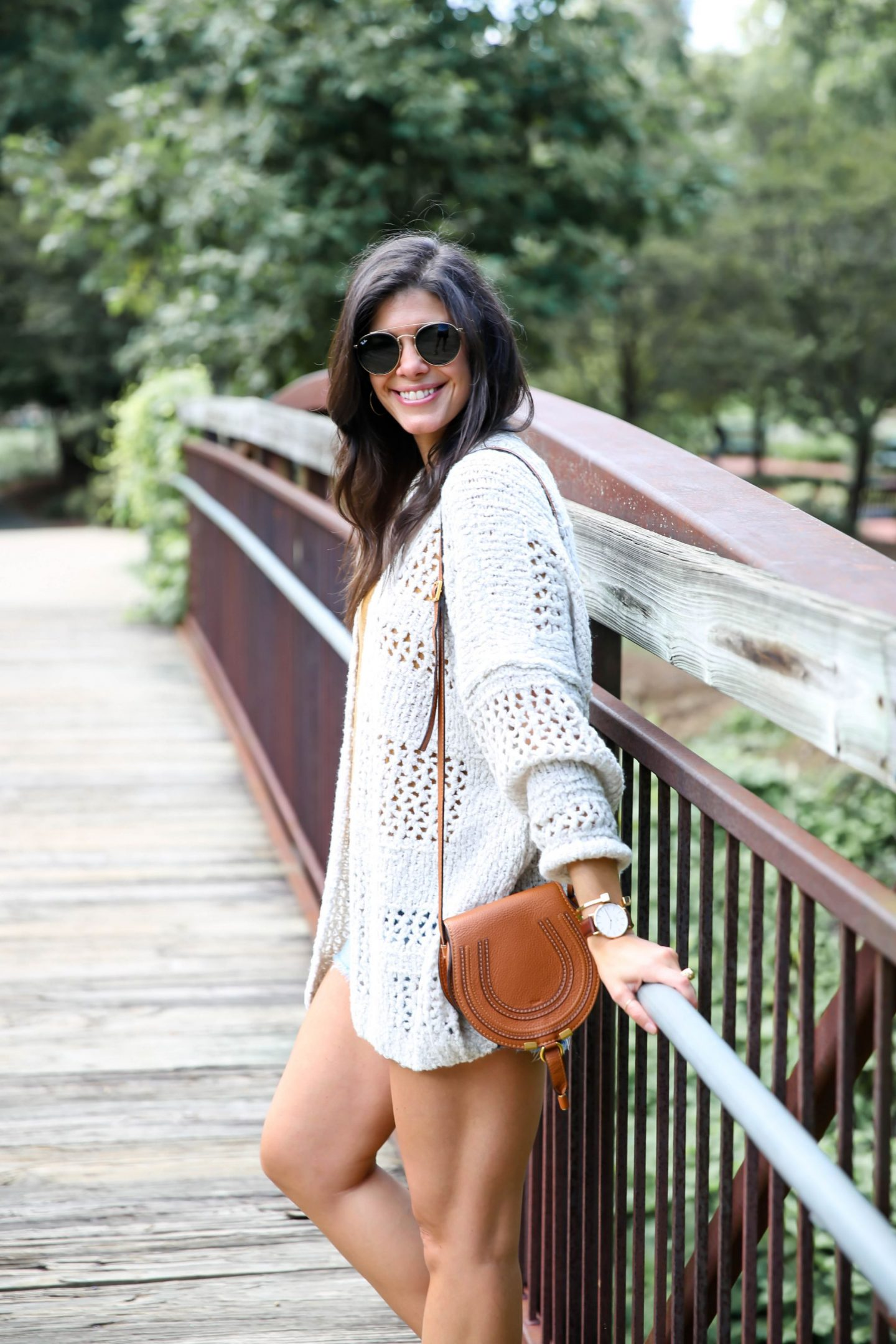 cozy cardigan - late summer style - Lauren Schwaiger