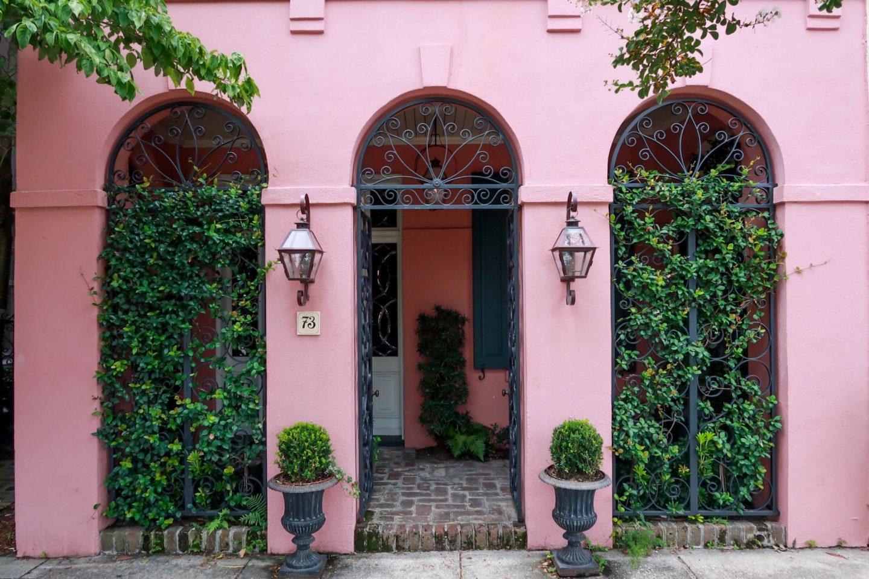 pink house - Charleston