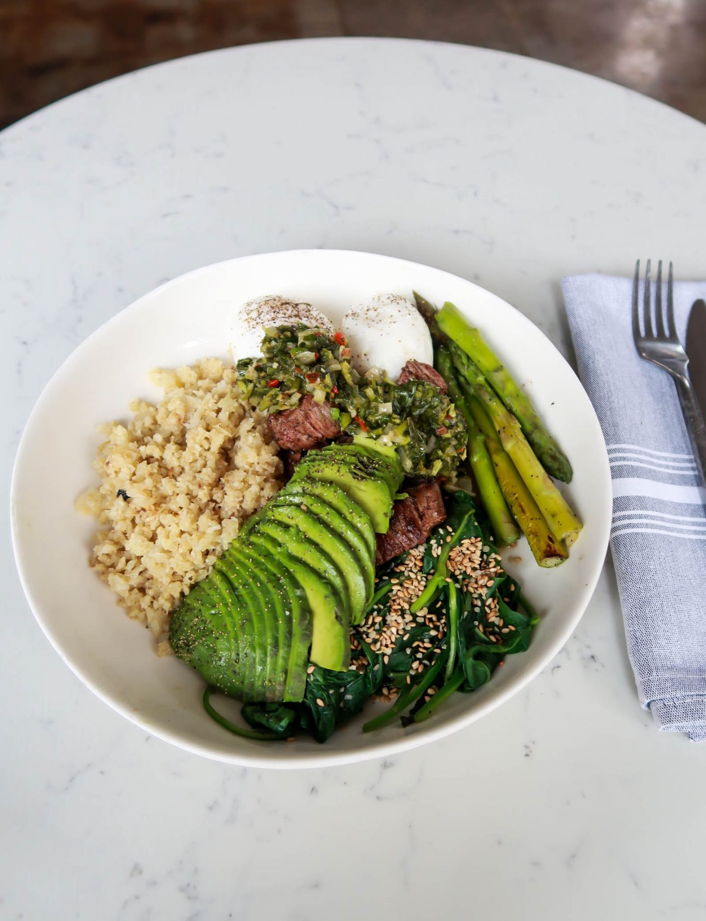 Paleo Bowl - Basic Kitchen - Charleston