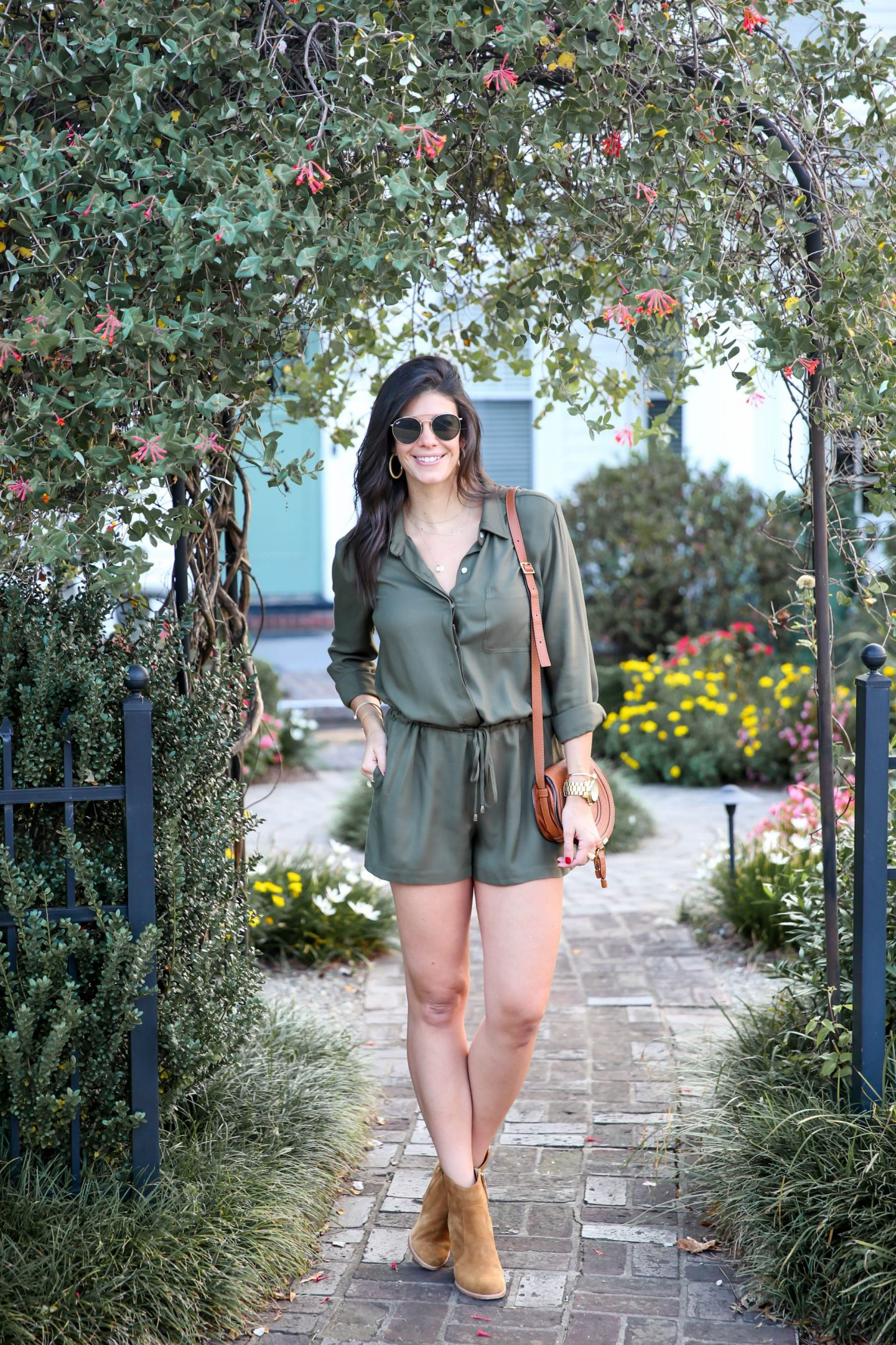 rompers for early fall - Lauren Schwaiger style blog