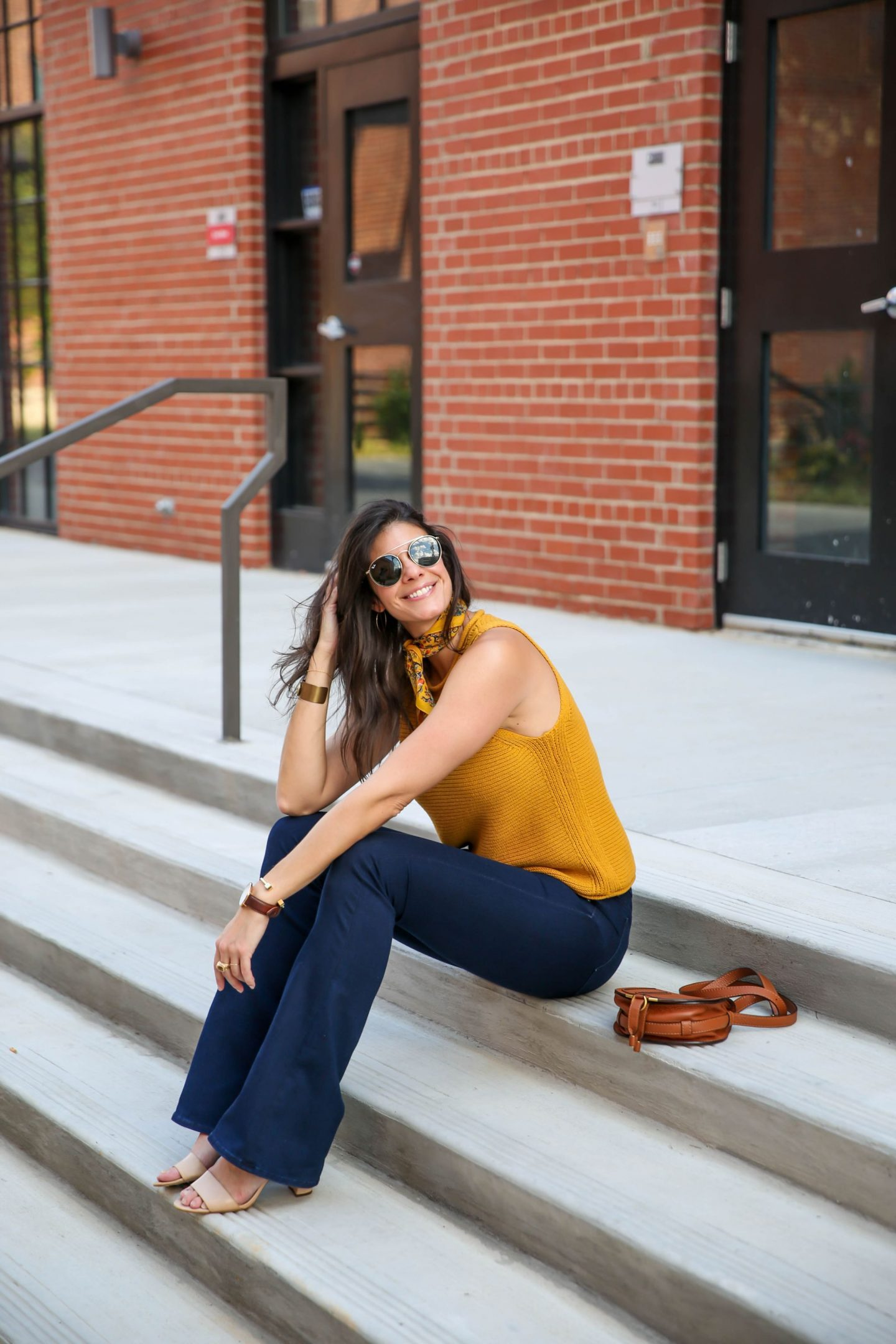 70s style for fall - Lauren schwaiger Charlotte style blog