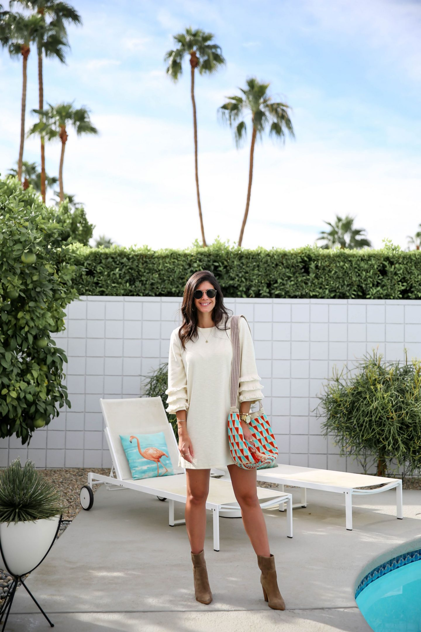 boho chic style - Palm Springs CA - Lauren Schwaiger Style Blog