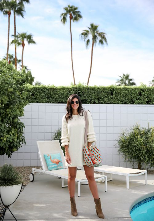 boho chic style - Palm Springs CA - Lauren Schwaiger Style Blog