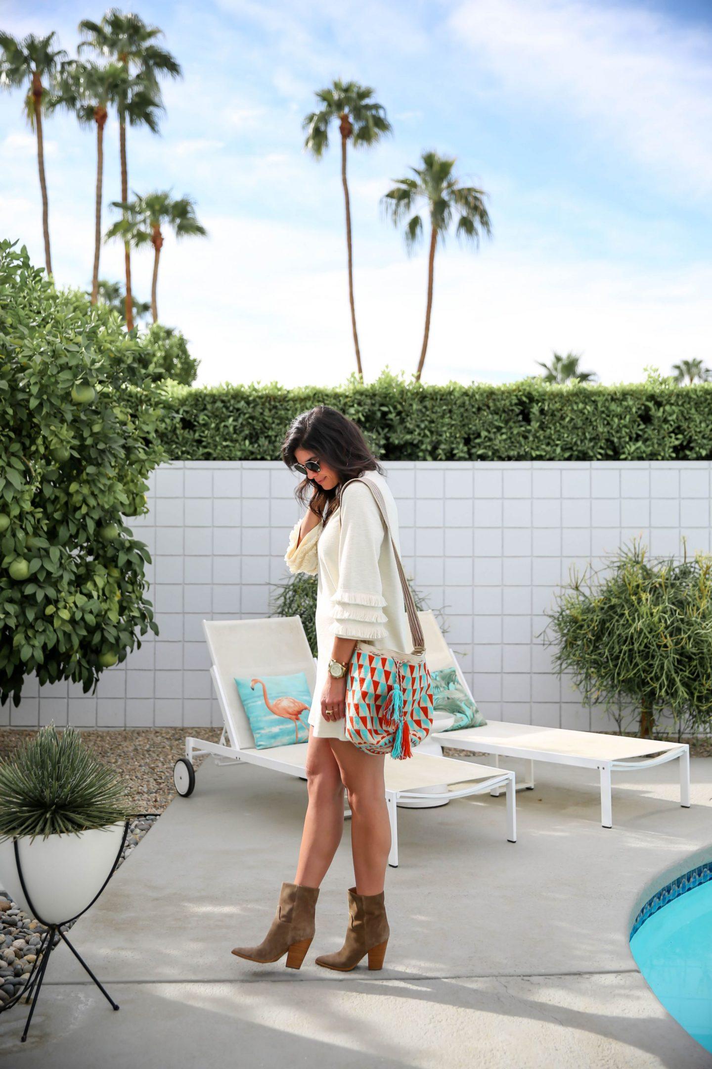 boho chic outfit inspiration - Lauren schwaiger style blog