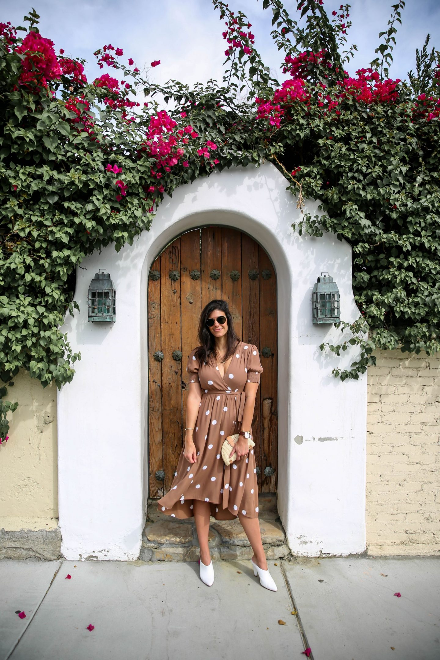 polka dot dress - Palm Springs - Lauren Schwaiger Travel Blogger