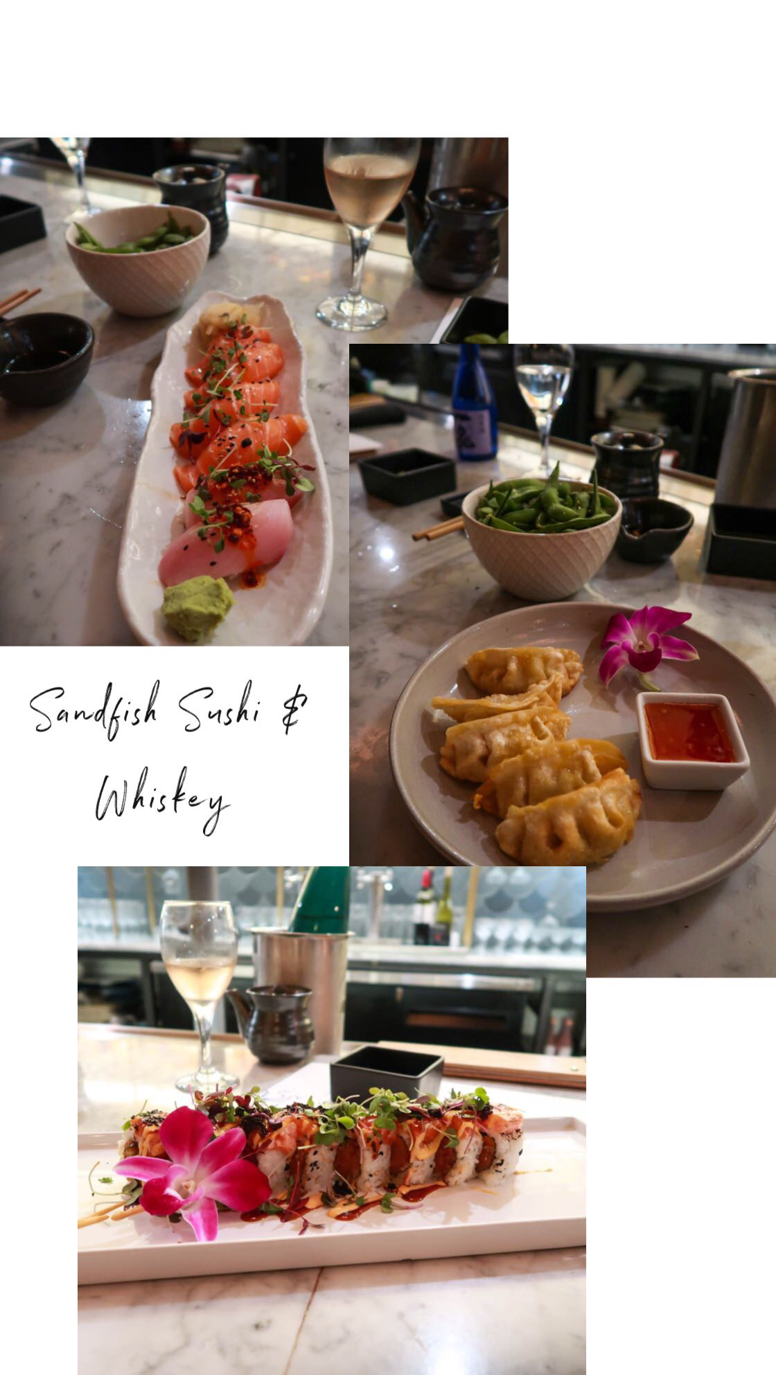 Sandfish Sushi & Whiskey - Palm Springs - Lauren Schwaiger Travel Blog