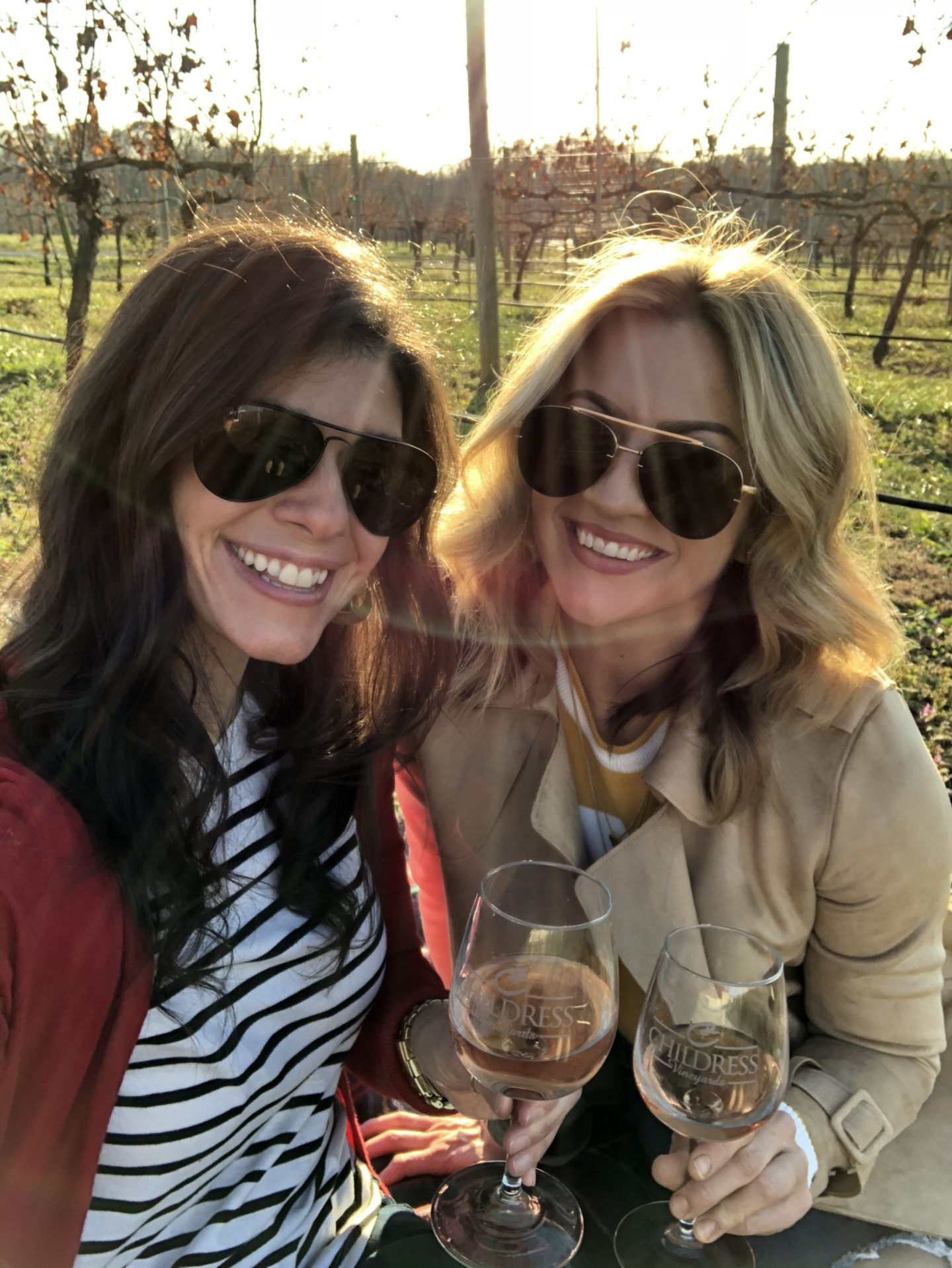 Childress Vineyards - Lauren Schwaiger Travel Blog