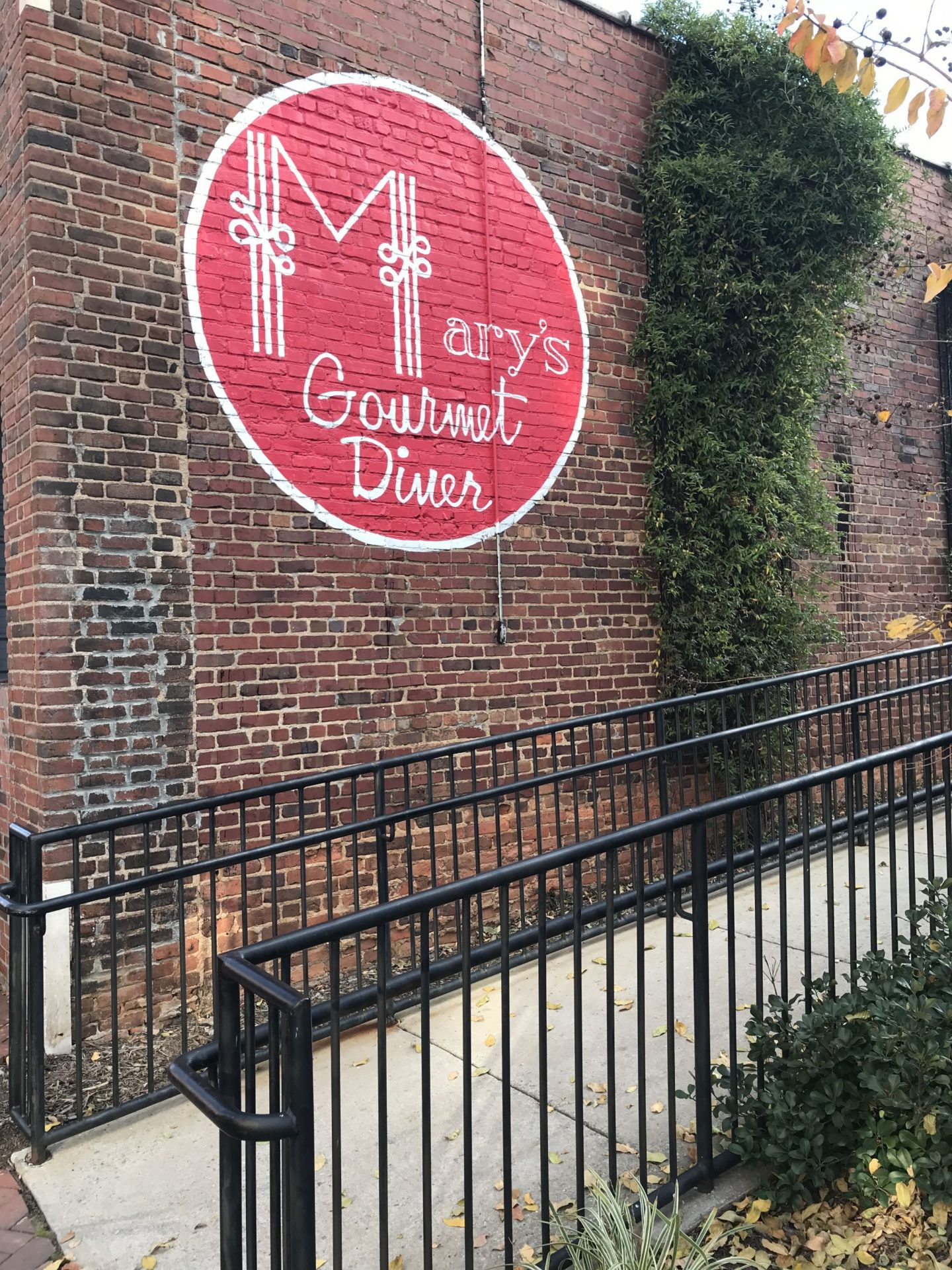 Mary's Gourmet Diner - Winston Salem - Lauren Schwaiger Travel Blog