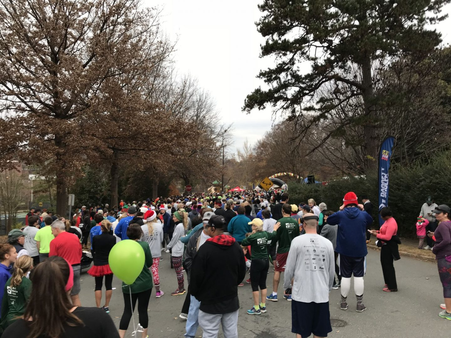 YMCA Mistletoe Run - Winston Salem - Lauren Schwaiger Blog