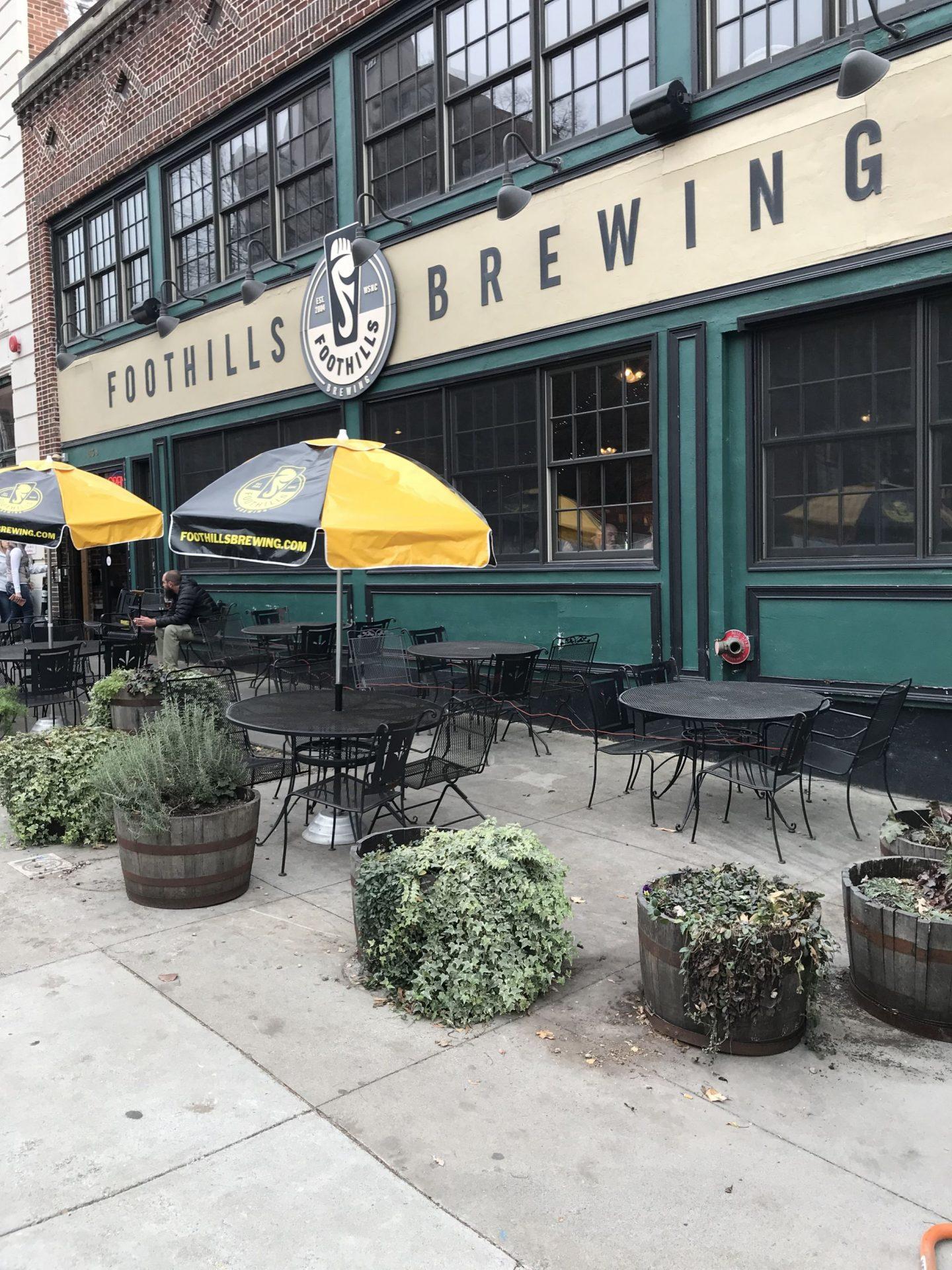 foothill brewery - Winston Salem - Lauren Schwaiger Travel Blog