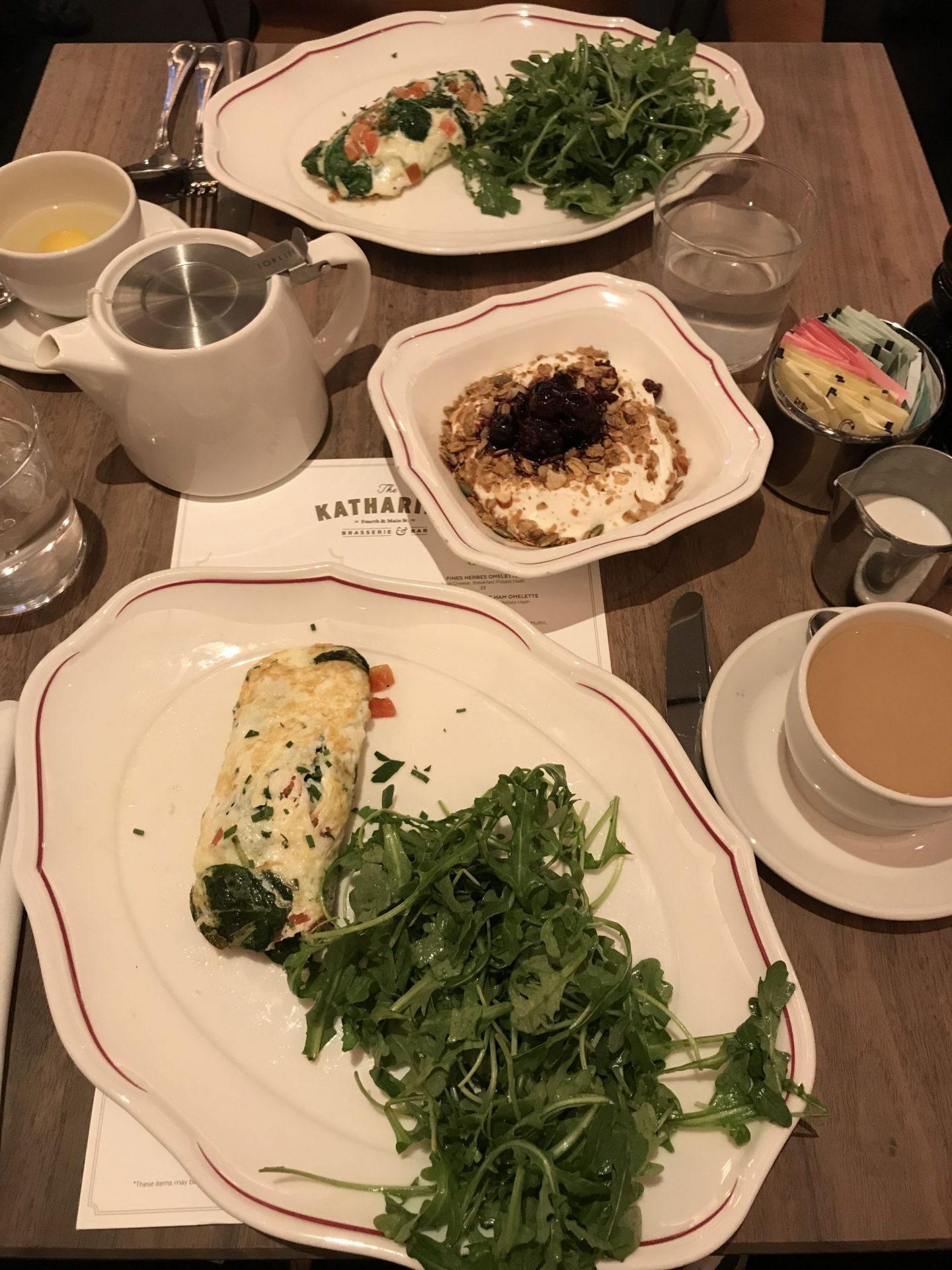The Katherine Breakfast - Kimpton Cardinal Hotel - Winston Salem - Lauren Schwaiger Travel Blog
