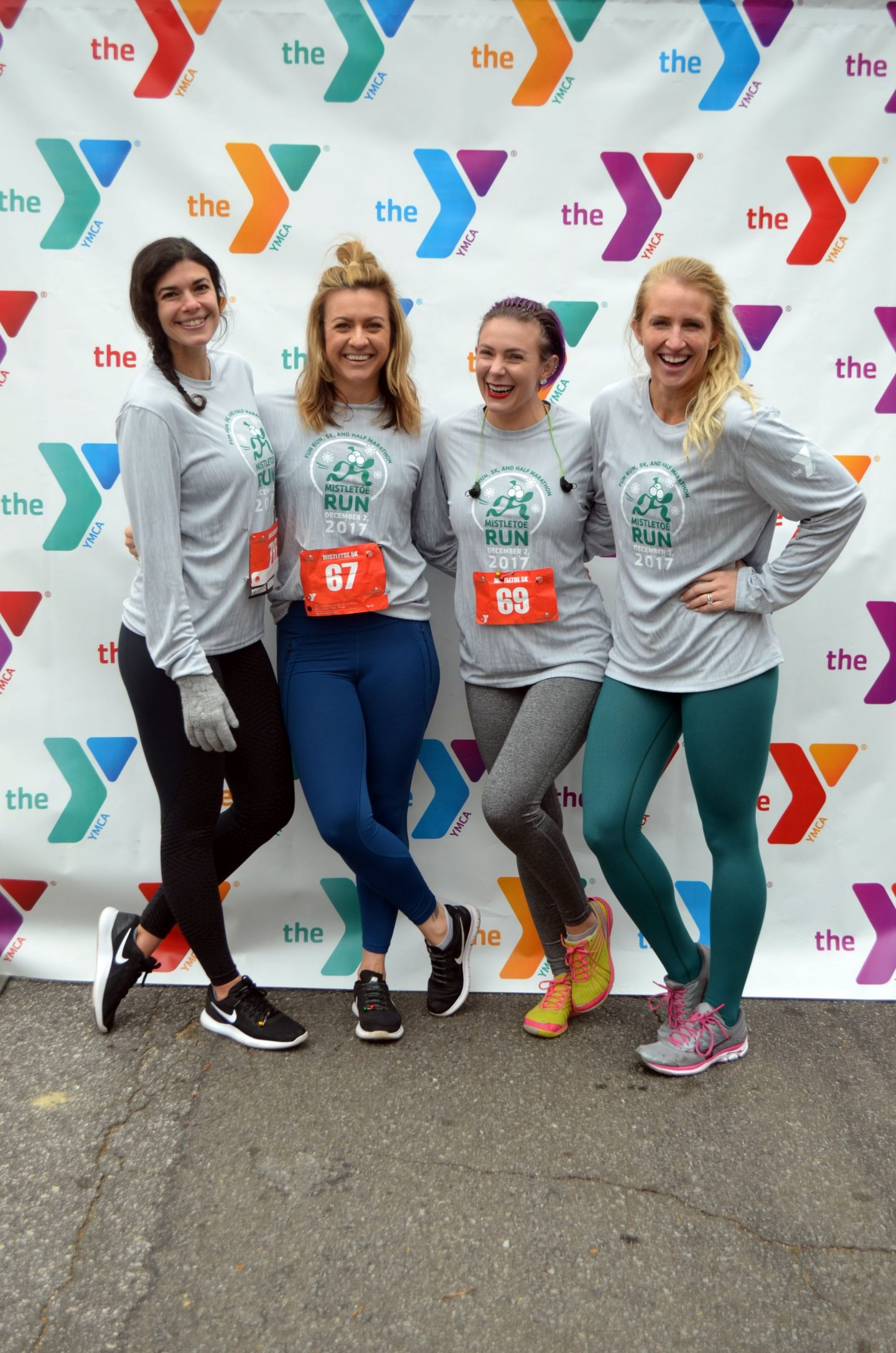 YMCA Mistletoe Run - Winston Salem - Lauren Schwaiger Travel Blog