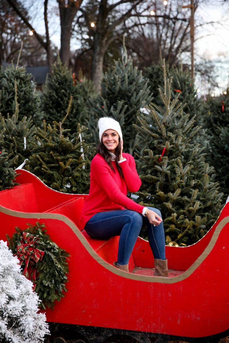 Casual Chic Holiday Style - Ann Taylor LOFT - Lauren Schwaiger Style Blog