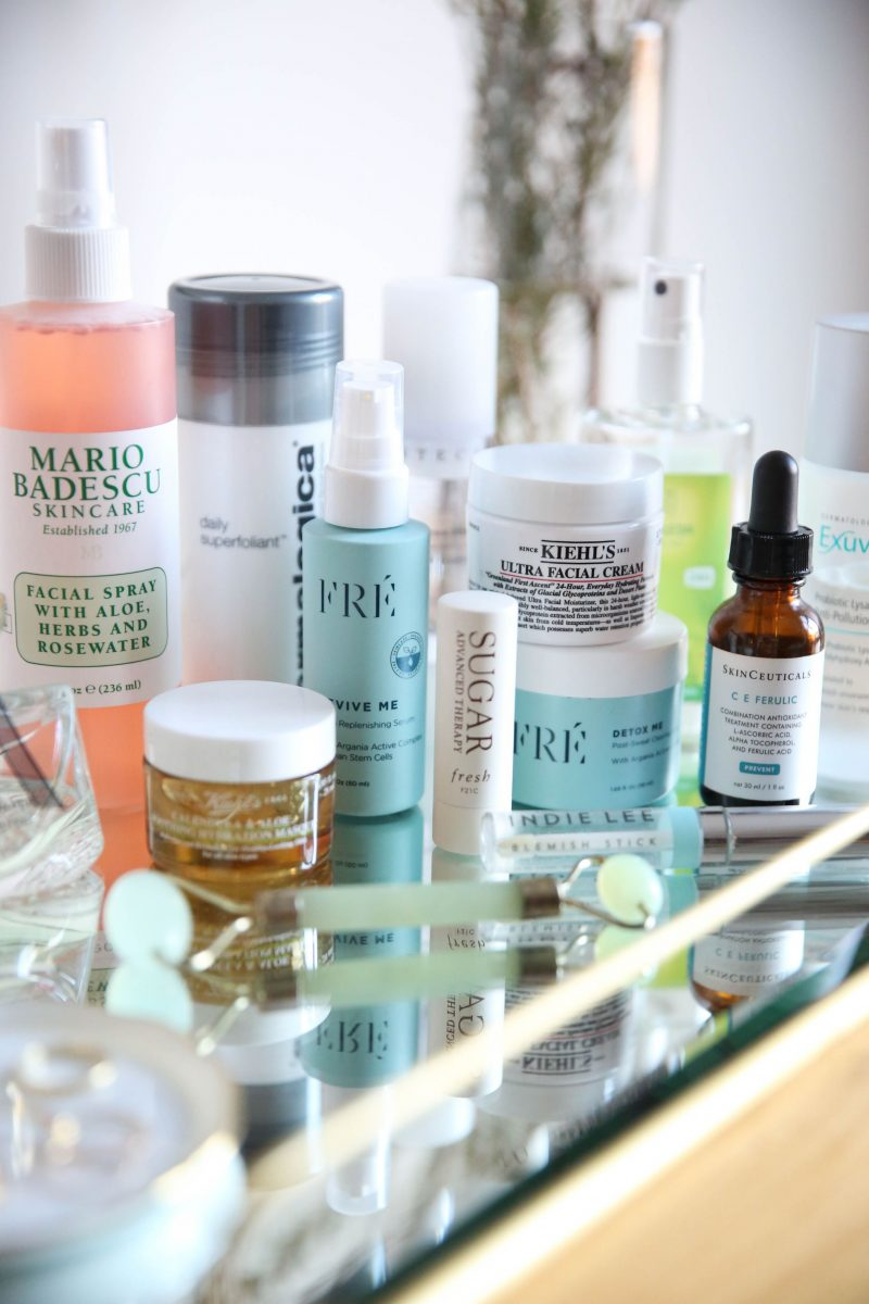 favorite skin care products of 2018 - Lauren Schwaiger lifestyle blog
