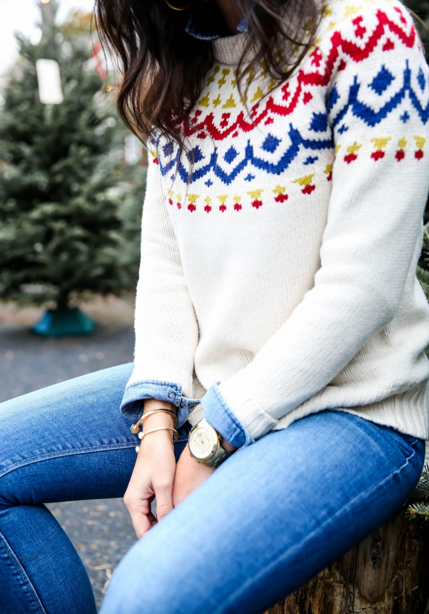 Fair Isle Sweater - Winter Style Inspiration - Lauren Schwaiger Style Blog