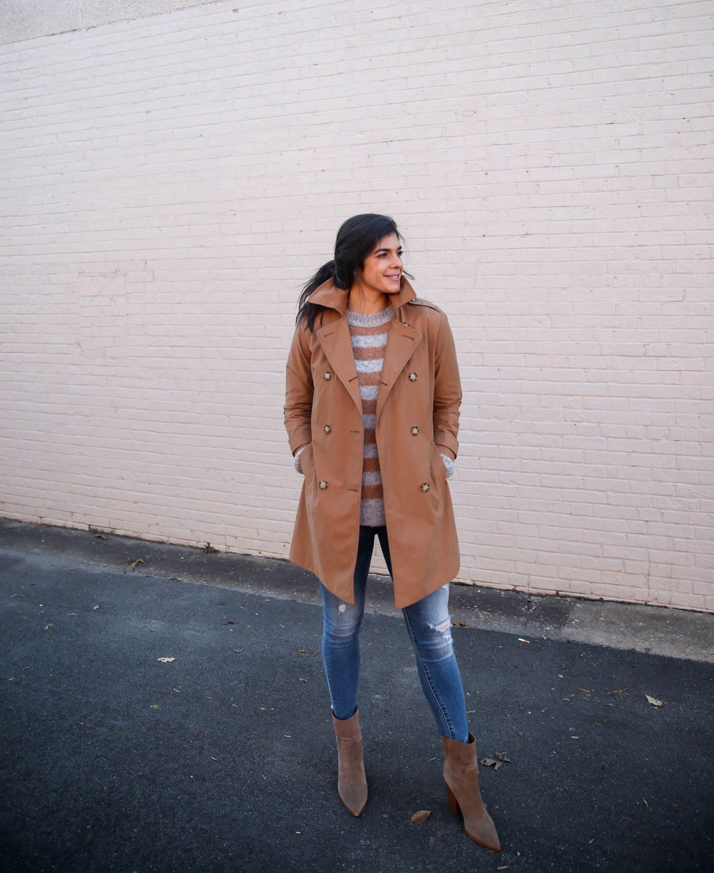 classic trench coat - Lauren Schwaiger style blogger