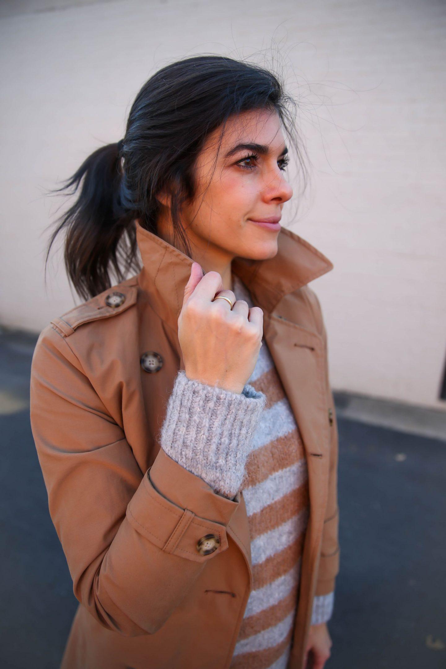 trench coat - classic style - Lauren Schwaiger blog