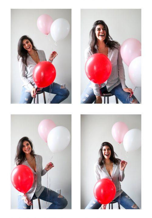 happy valentines day - create your own happiness - Lauren Schwaiger