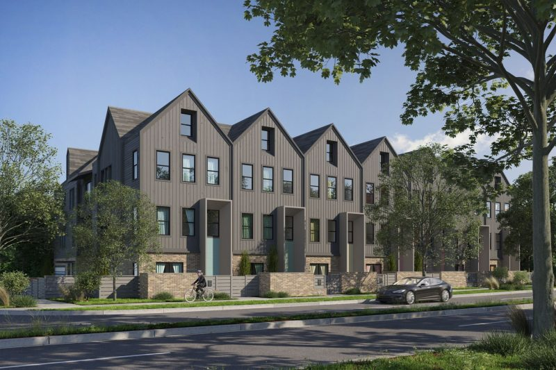 Plaza Row Townhomes - Modern, Craftsman Style Townhomes - Charlotte, NC - Schwaiger Realty Group