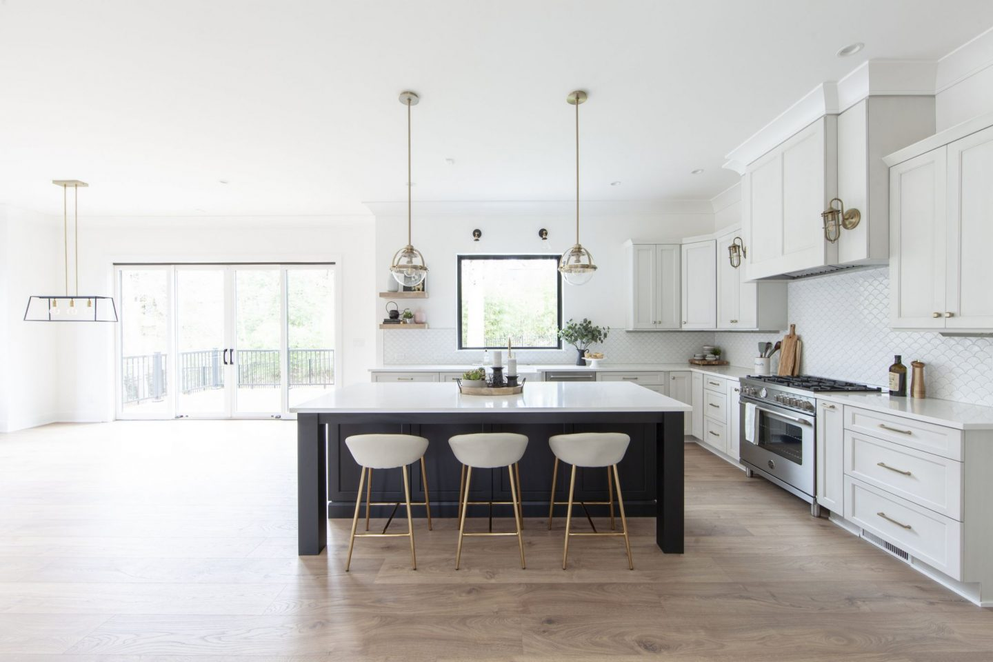 modern farmhouse - luxury kitchen - Chelsea Building Group - Schwaiger Realty Group