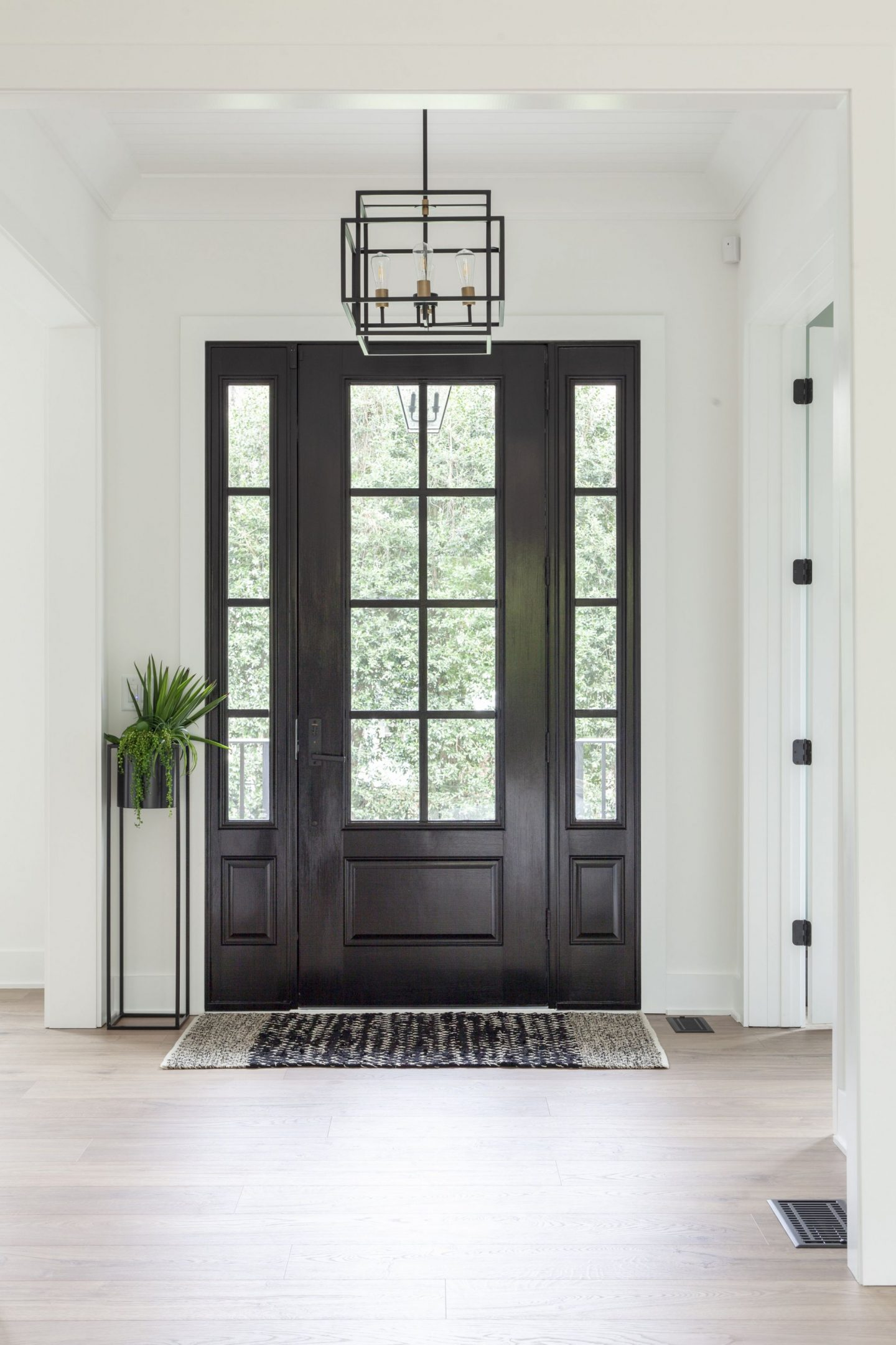 front entry - foyer - Chelsea building group - Charlotte, NC - Luxury Home Builder