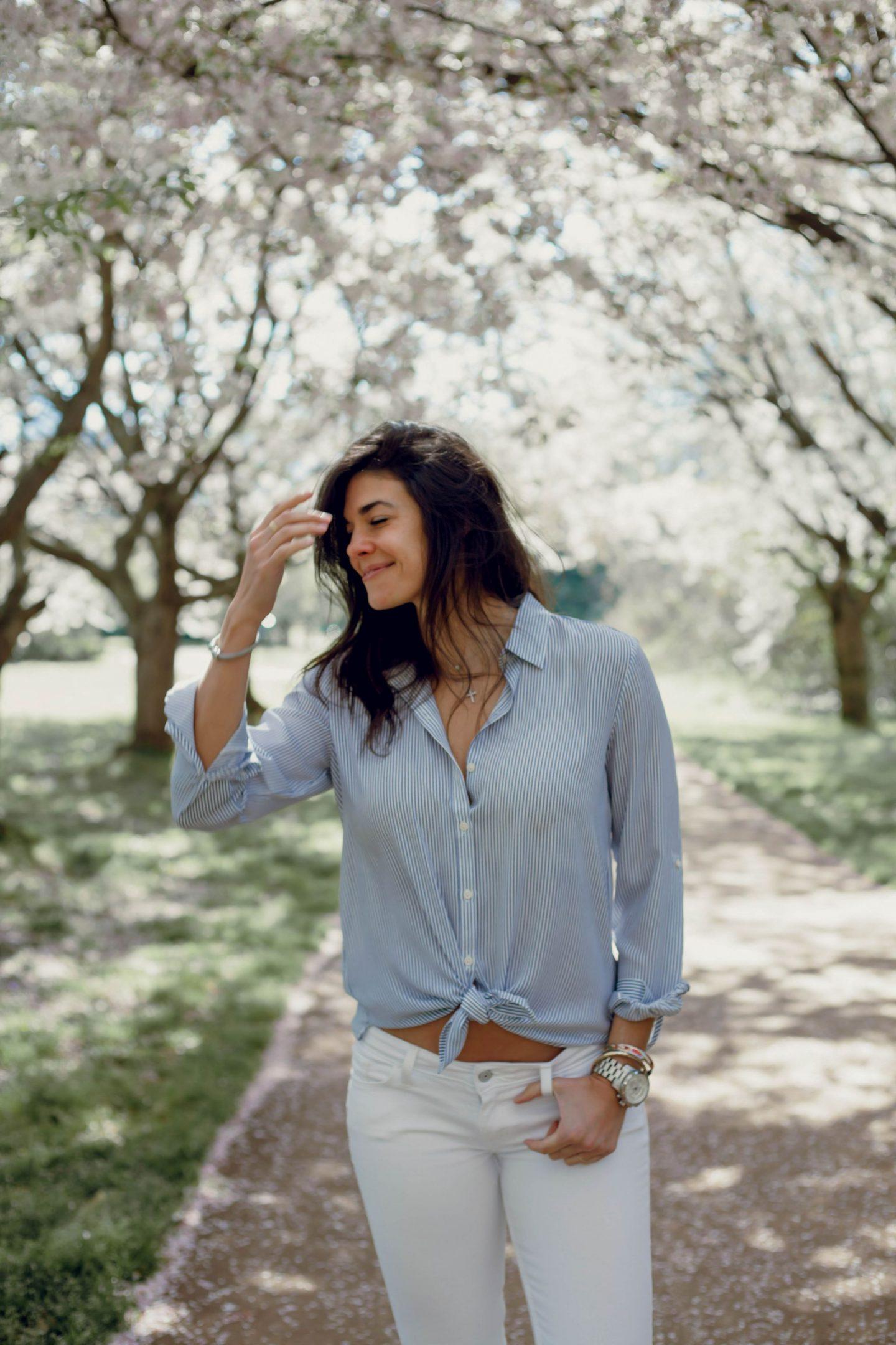 Lauren Schwaiger - casual chic spring style