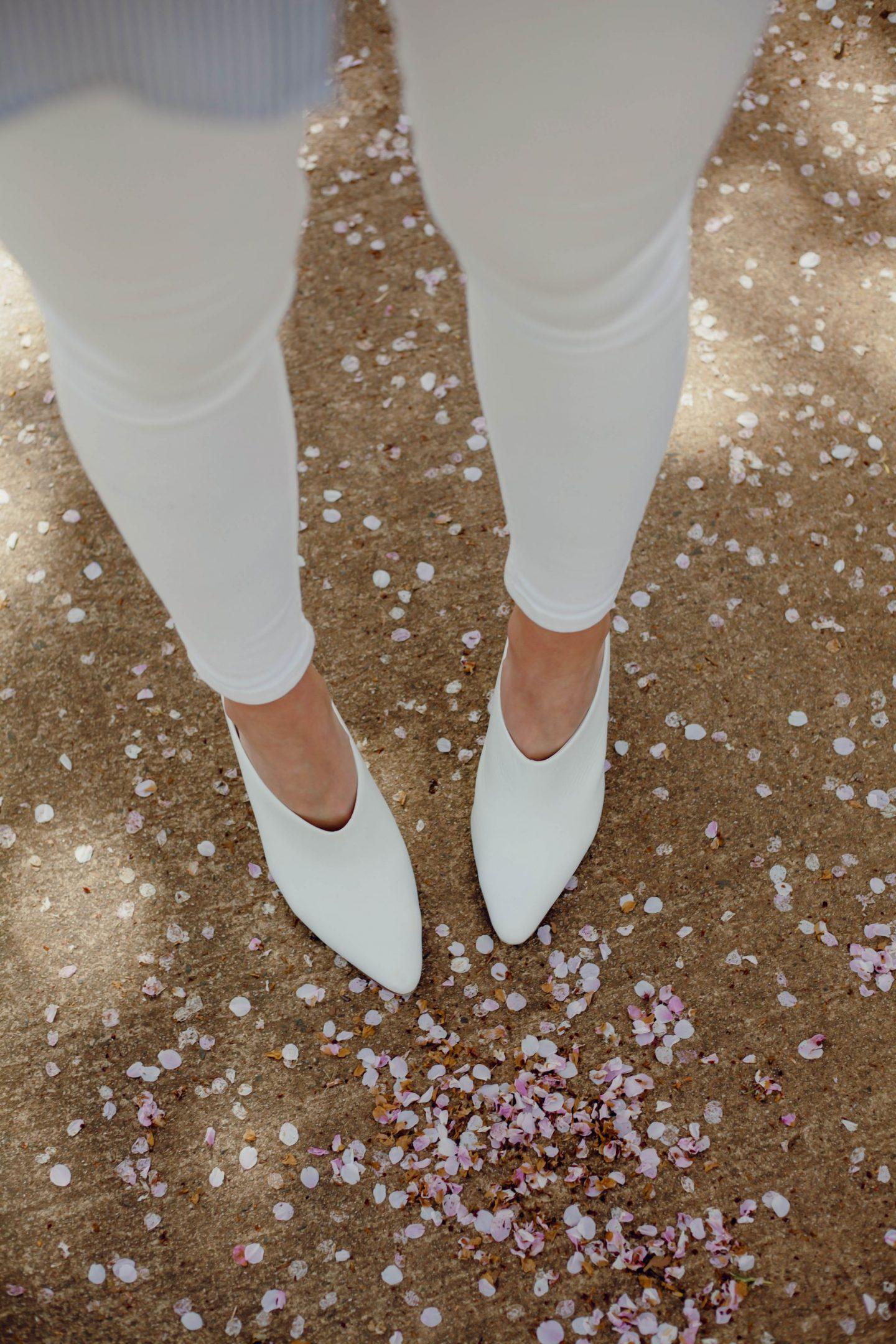 white mules - Lauren Schwaiger Style Blog