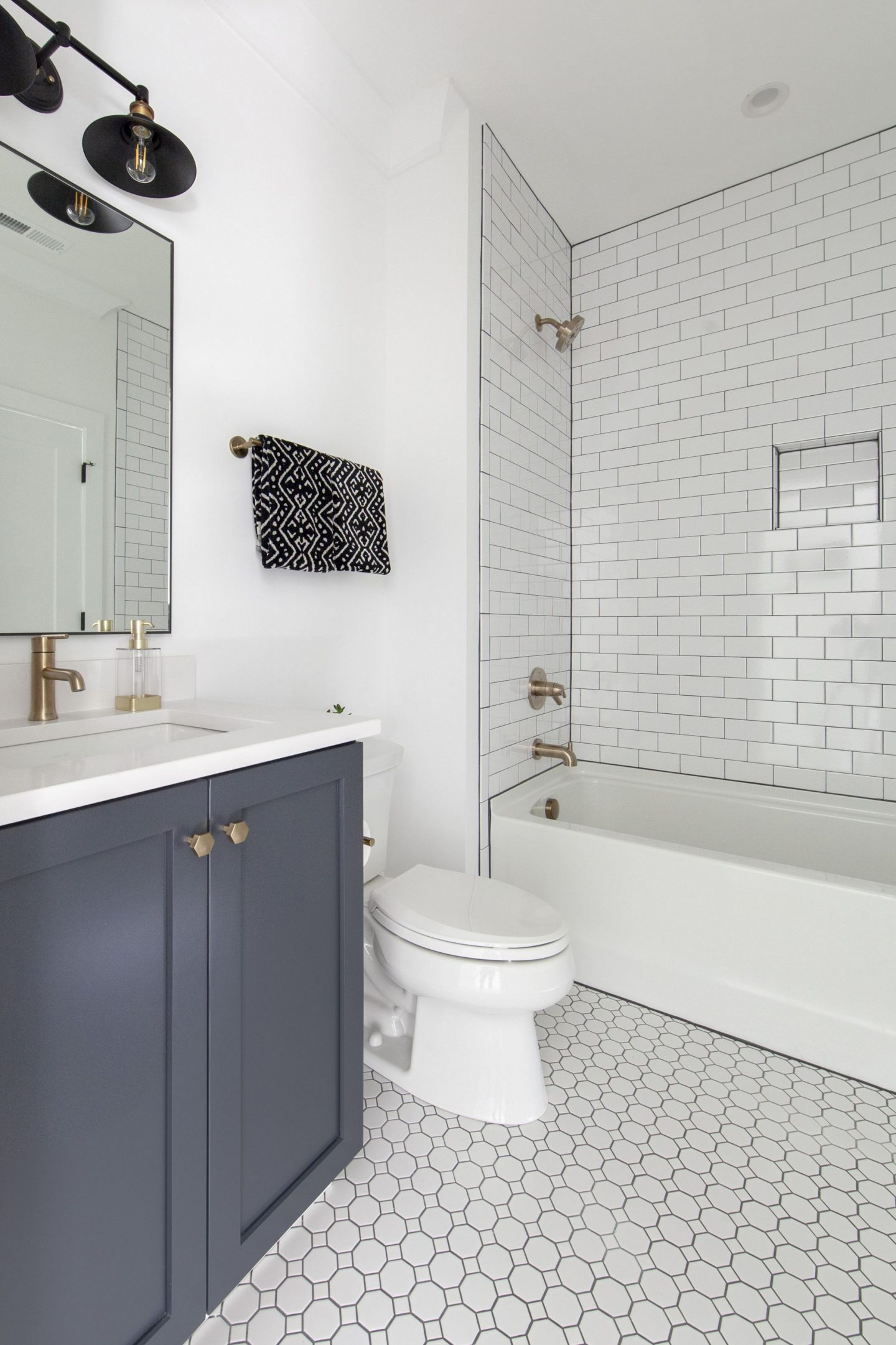 modern farmhouse - bathroom inspiration - Chelsea building group