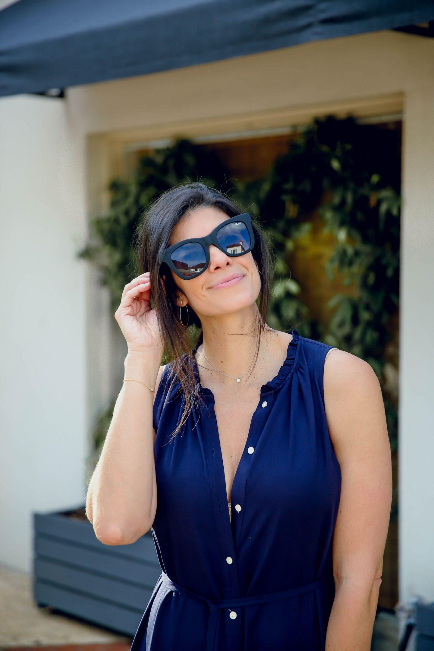 Quay Sunglasses - Lauren Schwaiger Style BLog