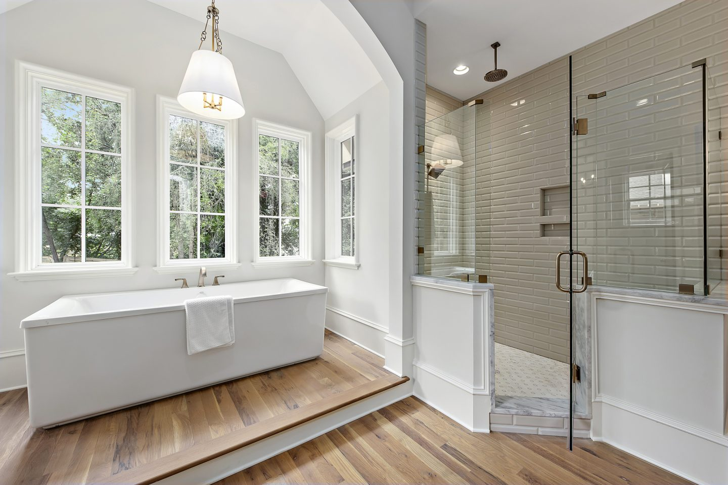 luxury master bathroom - Charlotte, NC - Schwaiger Realty Group