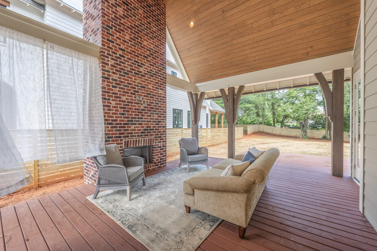 luxury home - outdoor living space - Pike Properties - Charlotte, NC