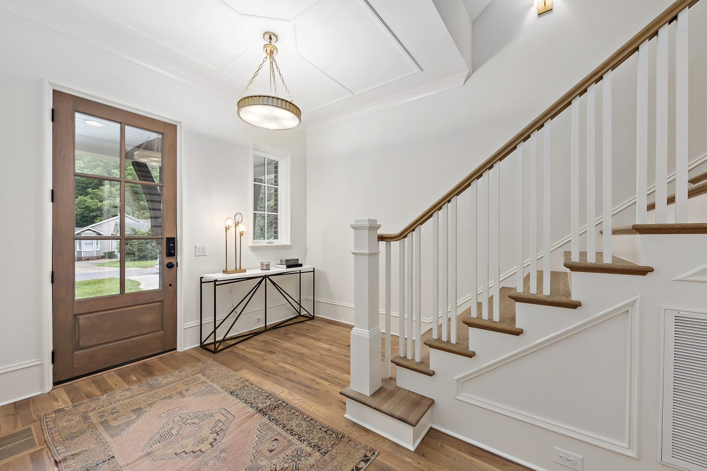 modern farmhouse - entryway - pike properties - Charlotte, NC Home Builder