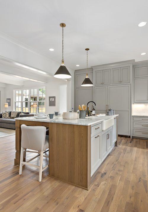 Luxury Modern Farmhouse Kitchen - Pike Properties - Charlotte, NC