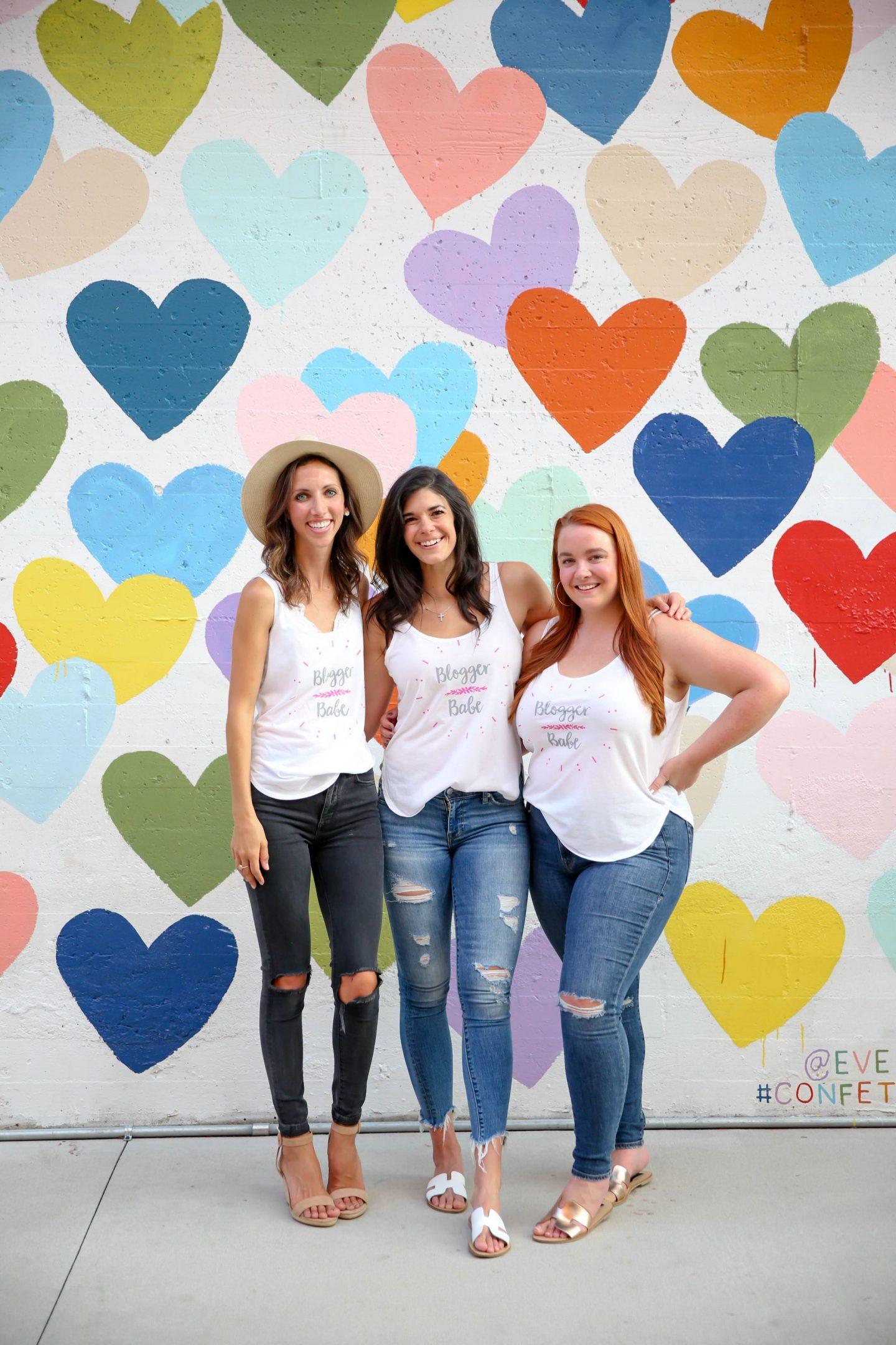 Custom Ink - Blogger Babe Tank - Charlotte, NC - Lauren Schwaiger Style Blogger