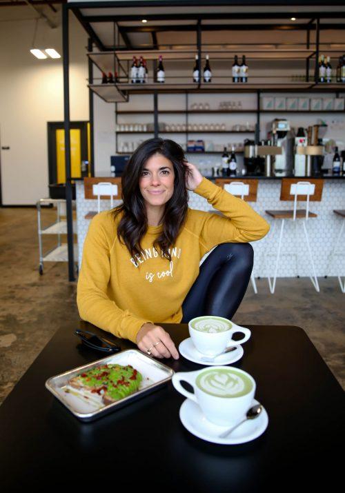 Being Kind Is Cool - Graphic Pullover - Lauren Schwaiger Style Blog