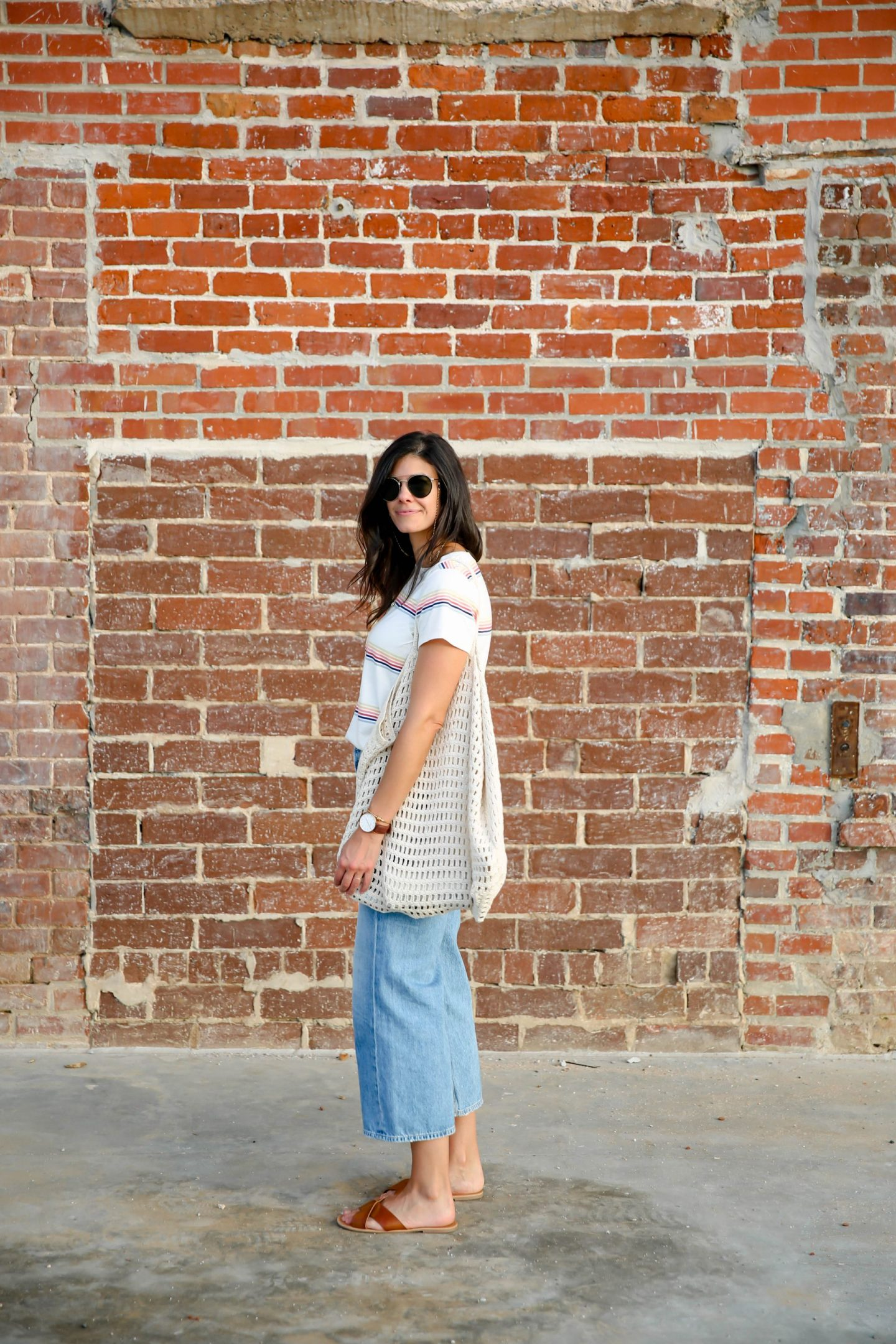 casual summer style - net bag - Lauren Schwaiger
