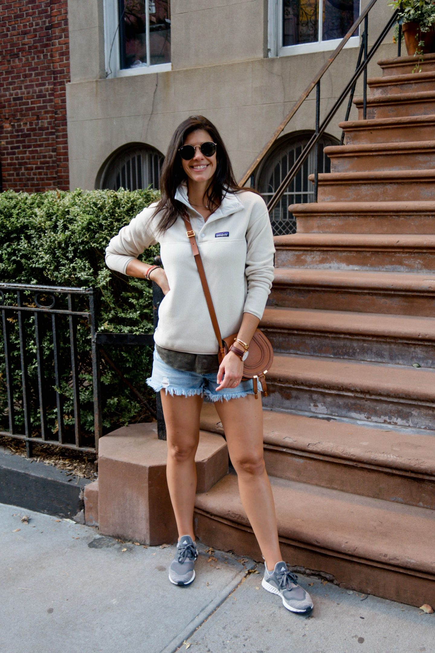 neutral layers in NYC - Casual Style - Lauren Schwaiger