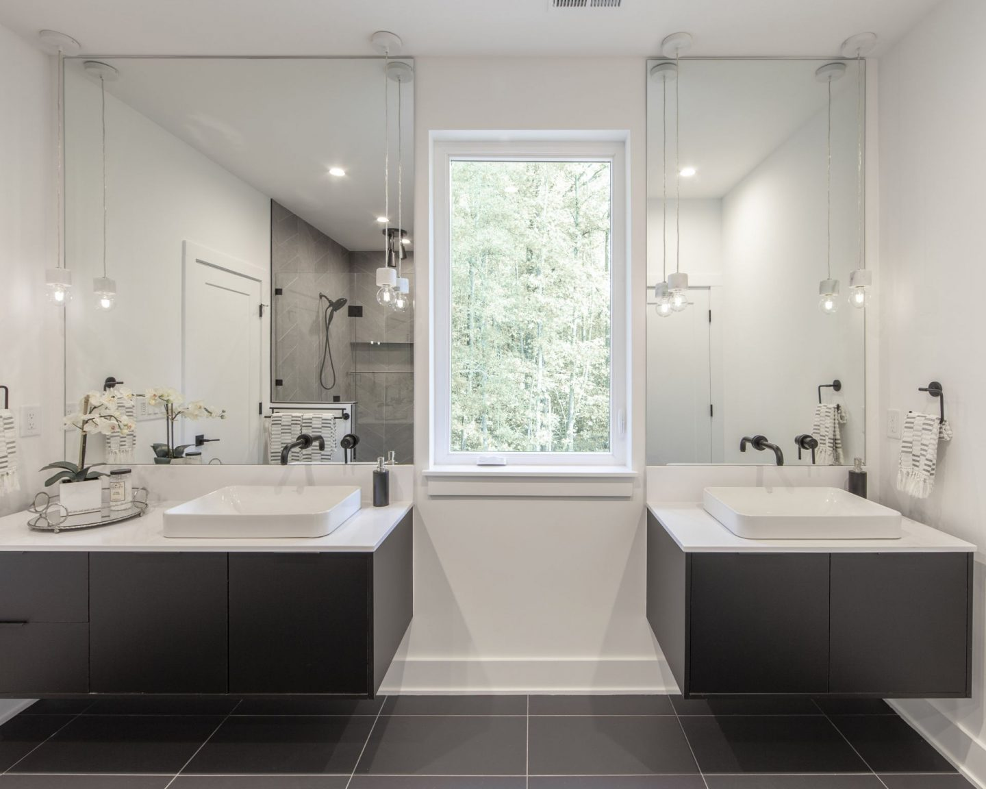 Modern Luxury Bathroom - Charlotte, NC - New Construction - Schwaiger Realty Group