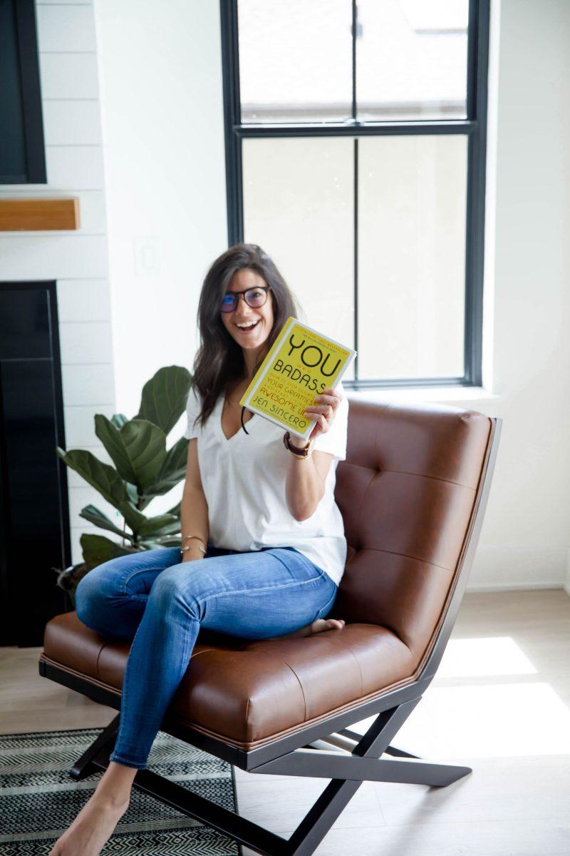 you are a badass - motivational books - Lauren Schwaiger Lifestyle Blog