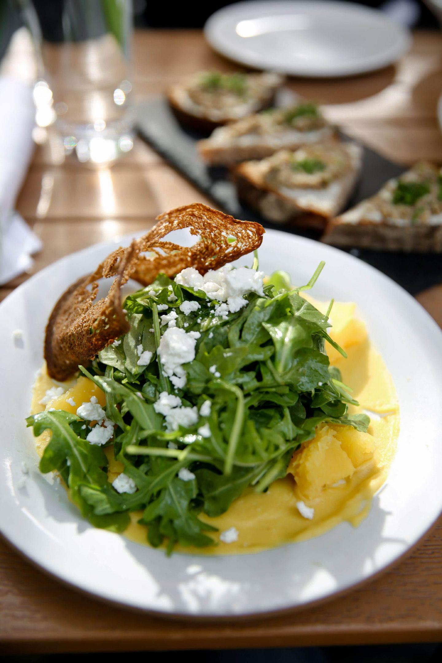 Kitchen Step - Seasonal Arugala Salad - Lauren Schwaiger Travel Guide