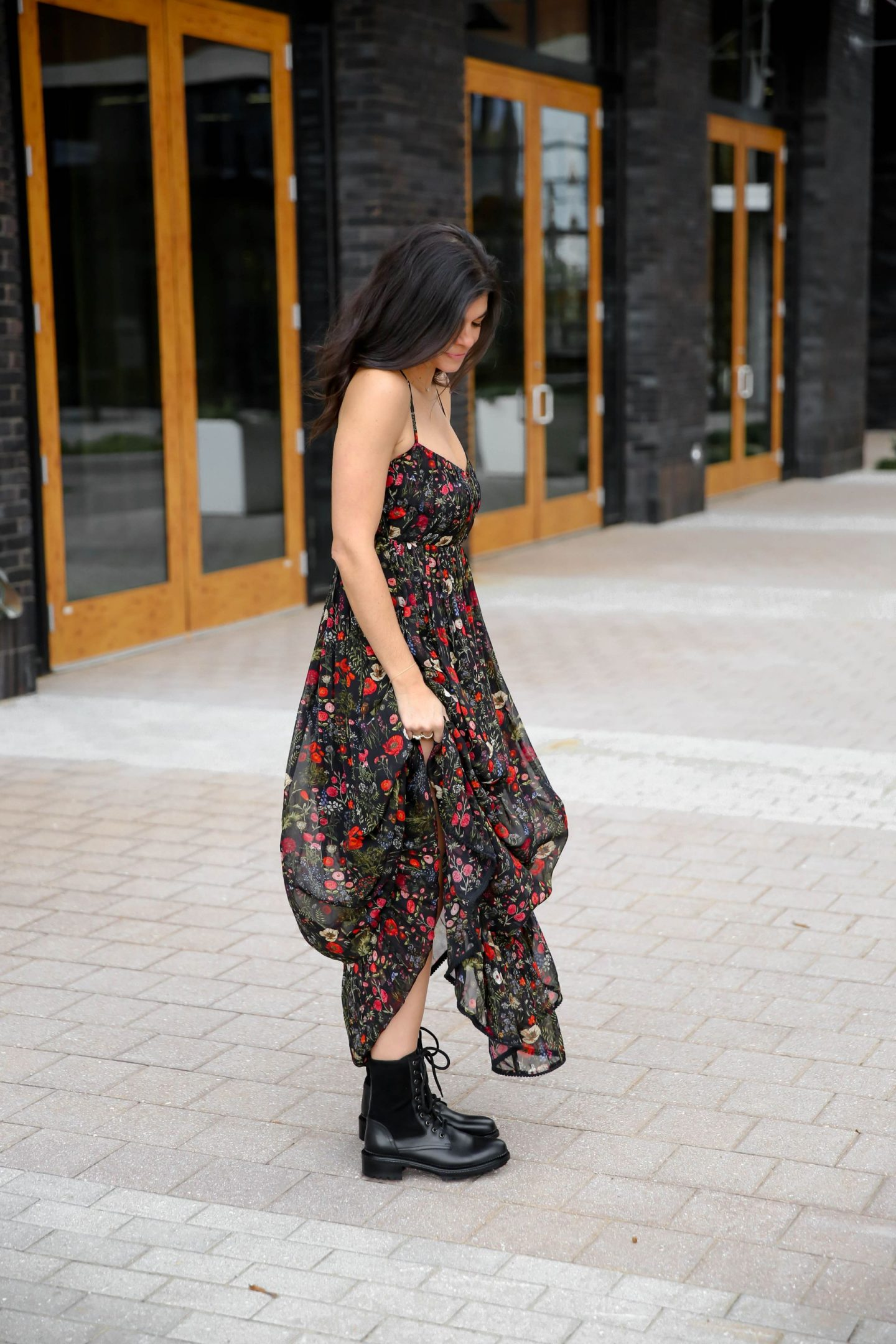 dress and combat boots