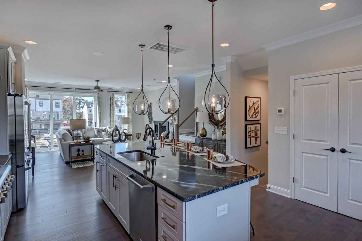 Wendwood Terrace - Charlotte, NC - Modern Open Floor Plan - Schwaiger Realty Group