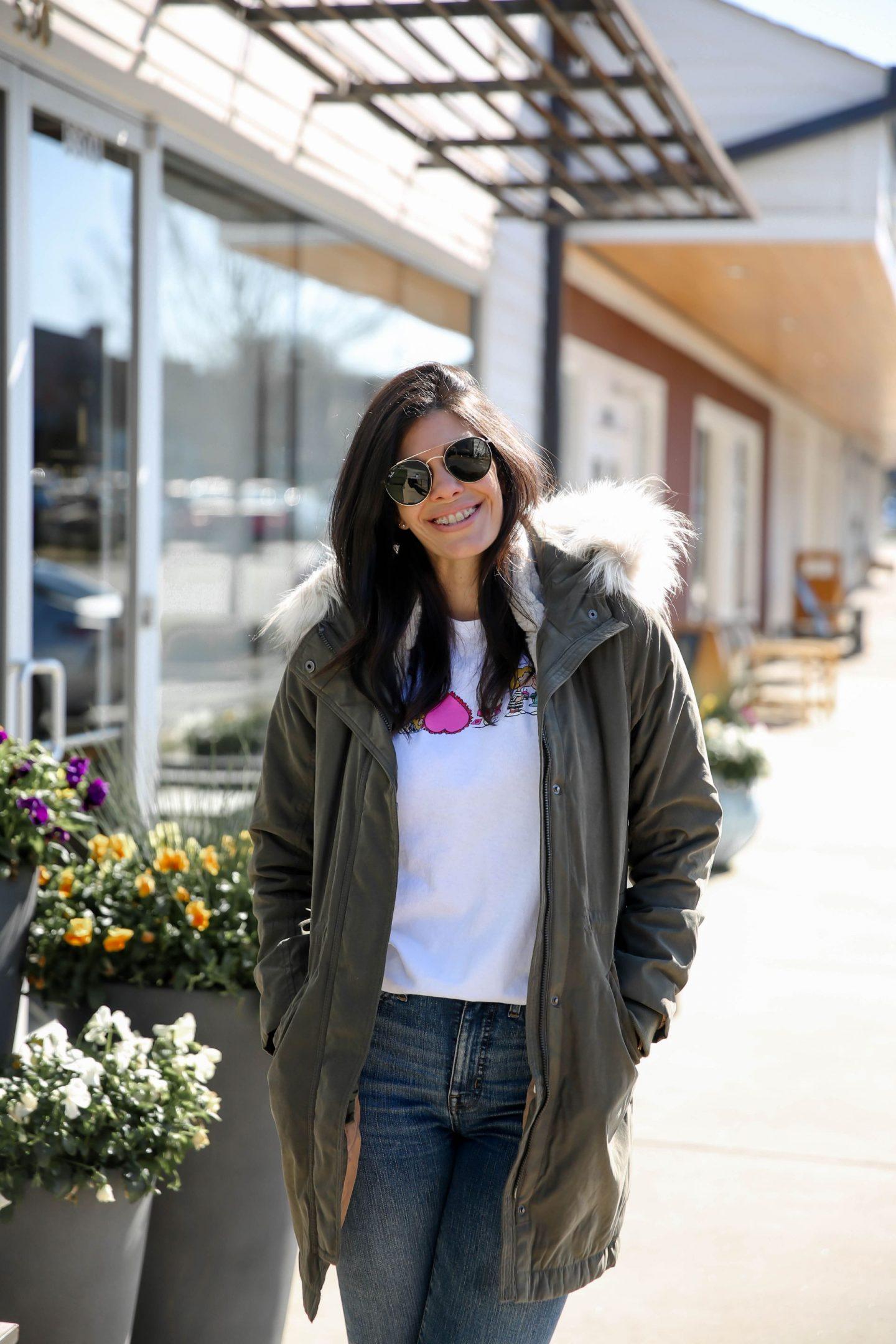 Olive Coat - Lauren Schwaiger Style Blog