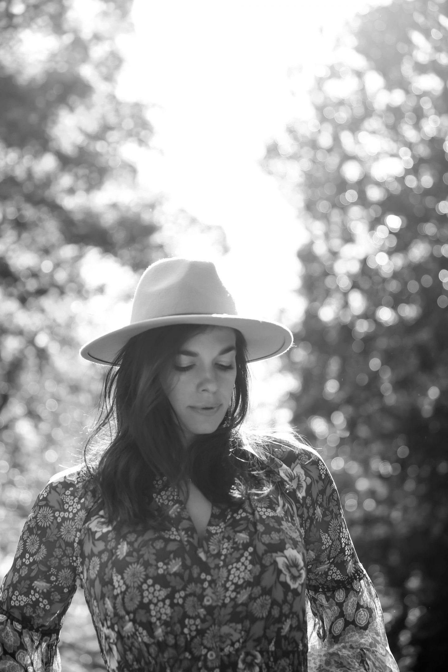 rancher hat - boho chic style - Lauren Schwaiger Style Blog