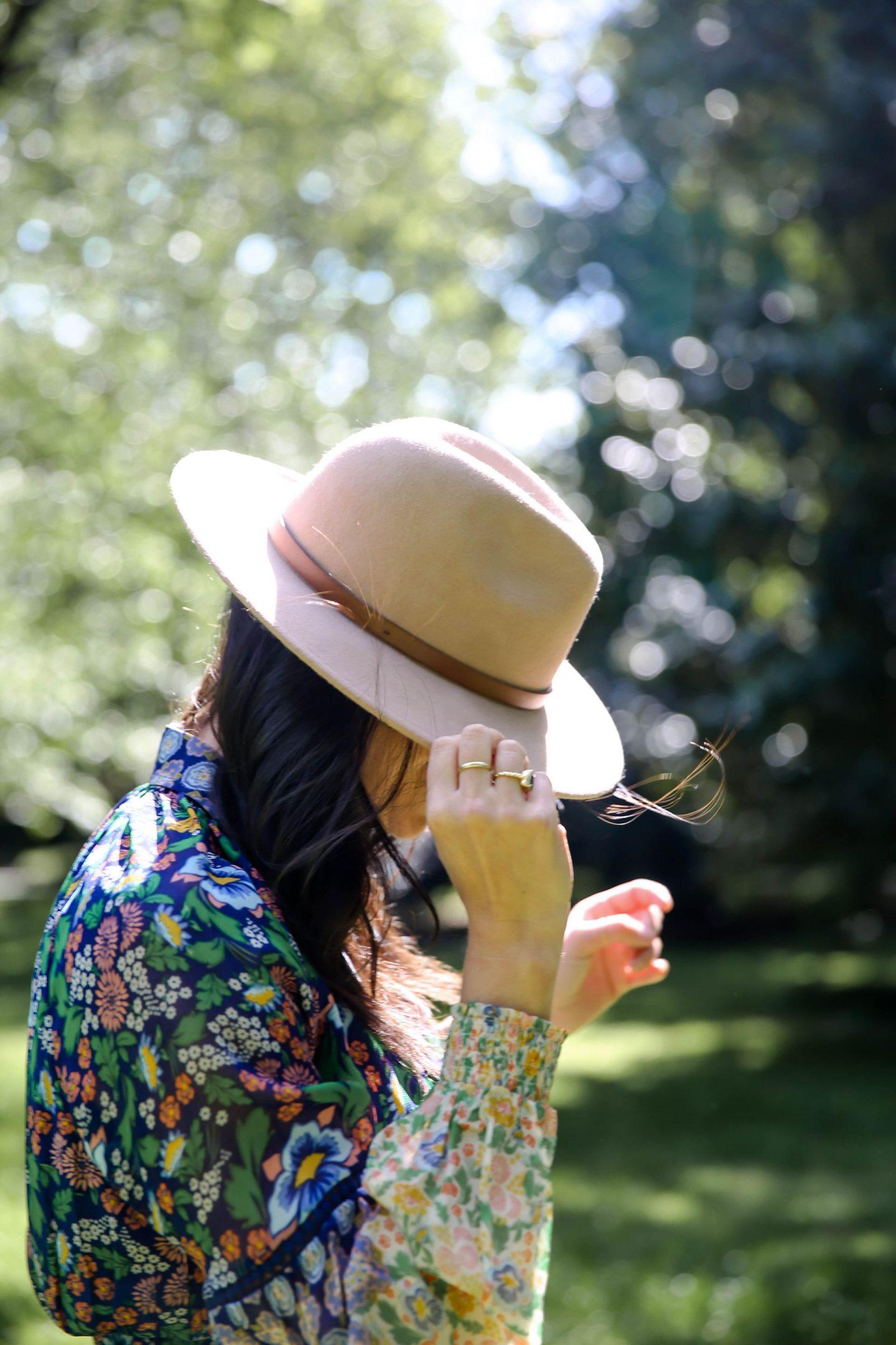 free people - rancher hat - Lauren Schwaiger Style Blog
