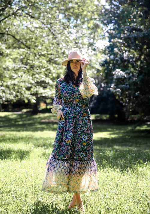 floral dress for spring - Lauren Schwaiger style blog