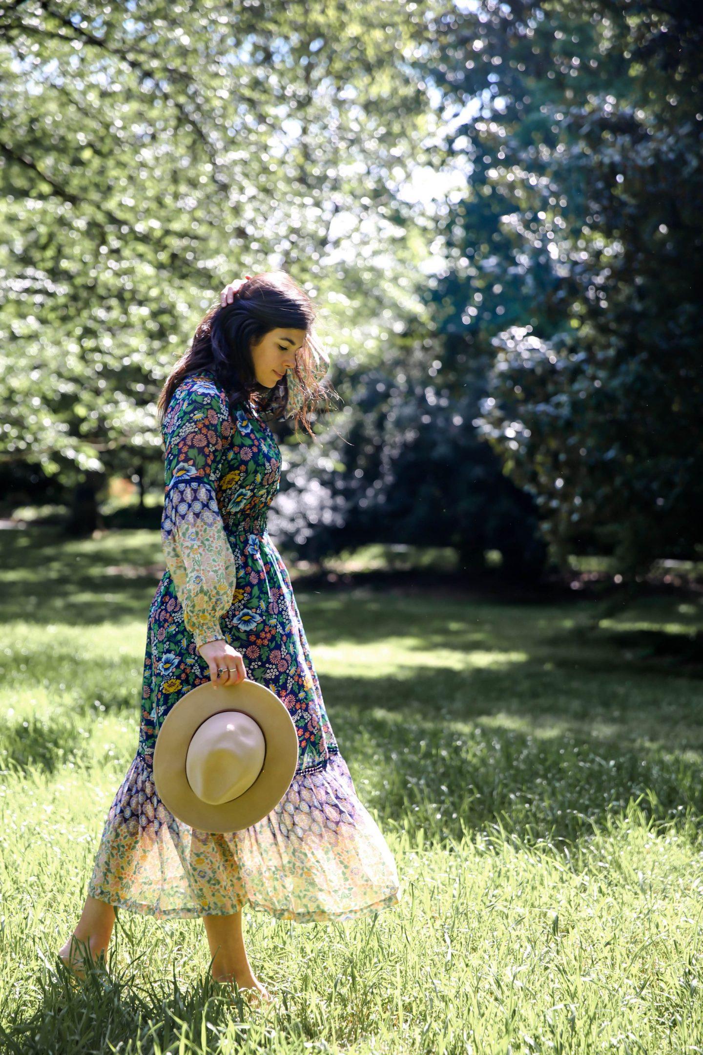 Anthropologie Floral Dresses - Lauren Schwaiger Style Blog