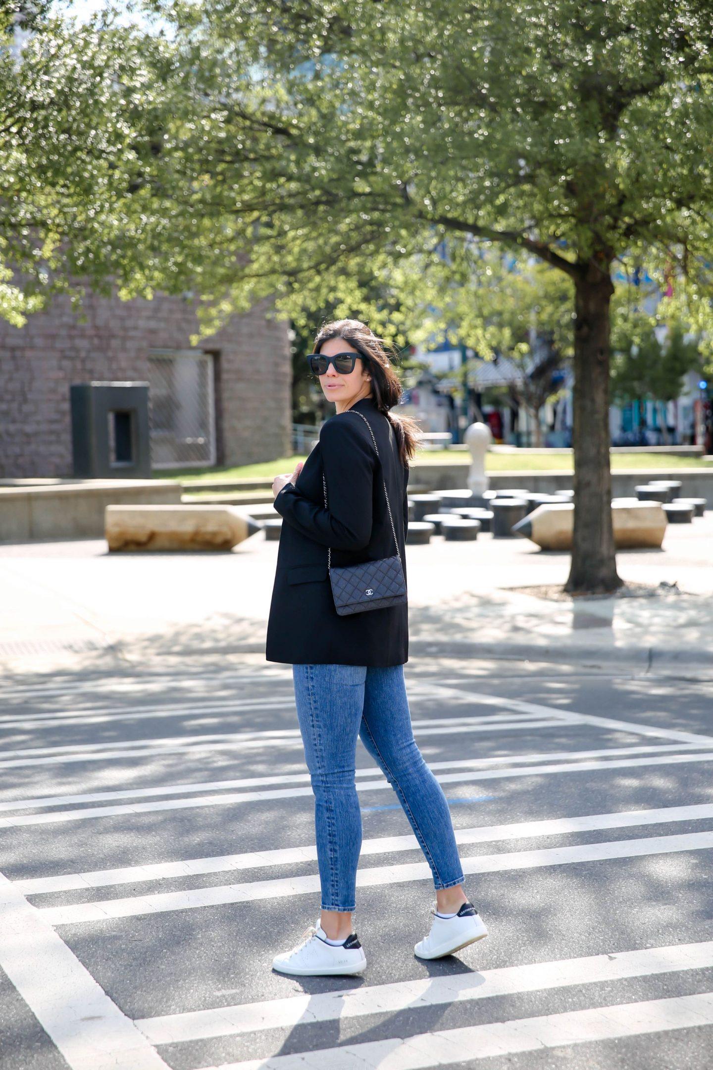 black blazer - skinny jeans - Lauren Schwaiger Style Blog