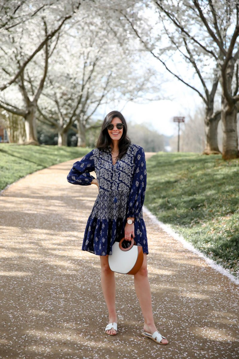 anthropologie - swing dress - spring style - Lauren Schwaiger